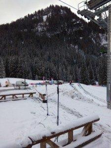 5cm de neige fraîche et petit-1 aglagla!!!